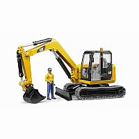 Cat Mini Excavator with Operator