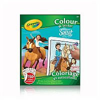 Colour & Sticker Book: Spirit