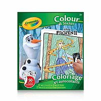 Colour & Sticker Book: Frozen 2