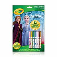 Frozen 2: Colour & Activity Book with Markers