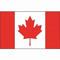 Canadian Flag Whiteboard Eraser