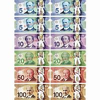 Canadian Currency Magnets