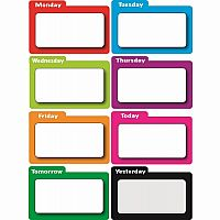 Weekdays Magnets - Filecard