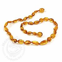 Baby Amber Necklace, Medium - Honey Olive
