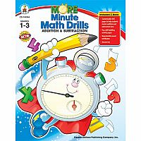 More Minute Math Drills, Grades 1-3