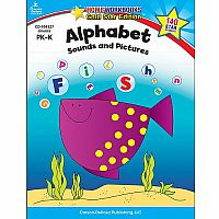 Alphabet Sounds and Pictures - Home Workbooks