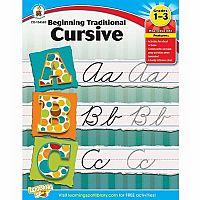 Beginning Traditional Cursive, Grades 1-3