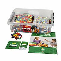3600 Piece Mini Plus-Plus - Class Pack Mixed Colours