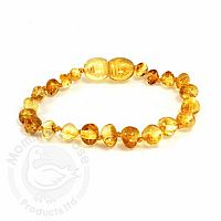 Adult Amber Bracelet - Lemon Baroque