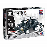 BRICTEK S.W.A.T. Jeep with Ladder