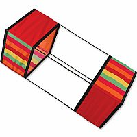 "Circus Stripe 36"" Traditional Box Kite"
