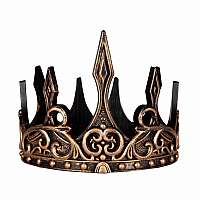 Medieval Crown - Gold & Black