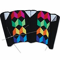 Rainbow Illusion - Large Power Sled Kite (8' Dia)