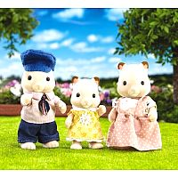 Fluffy Hamster Family - Calico Critters