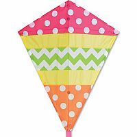 "Cheerful 25"" Diamond Kite"