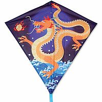 "Asian Dragon 30"" Diamond Kite"