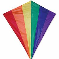 "Rainbow 30"" Diamond Kite"