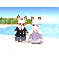 Hopscotch Rabbit Grandparents-Calico Critters