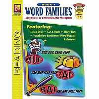 Word Families - Book 1