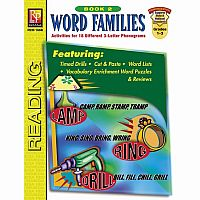 Word Families - Book 2