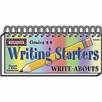 Writing Starters Write-Abouts Gr 4-8