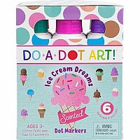 Scented Dot Makers 6 Pack - Ice Cream