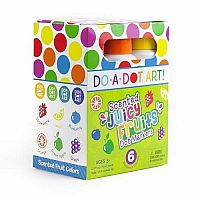 Scented Dot Makers 6 Pack - Juicy Fruits