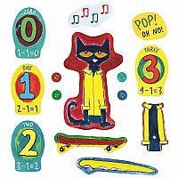 Pete the Cat Buttons - Felt Story