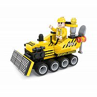 BRICTEK Mini Bulldozer