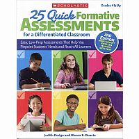 25 Quick Formative Assessments Gr 4+