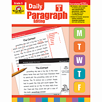 Daily Paragraph Editing Gr 3