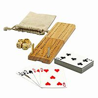 12-in1 Cribbage & More Travel Games