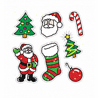 Christmas Dazzle Sticker