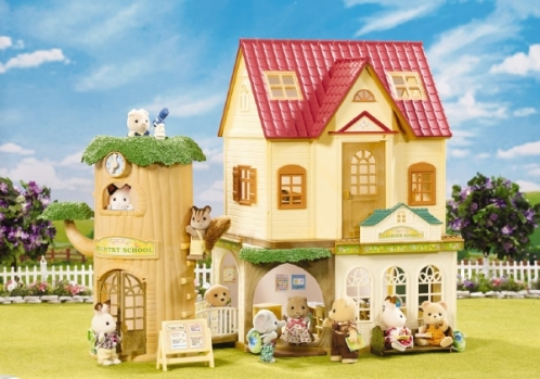Country Tree School Calico Critters Kool Amp Child
