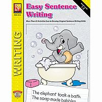Easy Sentence Writing - Grade 1-2