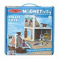Magnetivity: Pirate Cove - Magnetic Building Playset