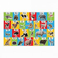 Animal Alphabet - 24 Piece Floor Puzzle