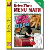 Drive-Thru Menu Math - Grade 3