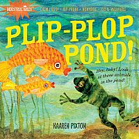 Plip-Plop Pond - Indestructibles Book