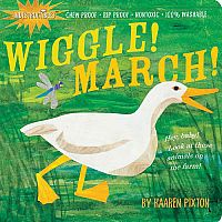 Wiggle! March! - Indestructibles Book