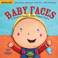 Baby Faces- Indestructibles Book