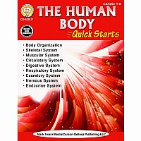 Human Body Quick Starts Gr 4 - 8+