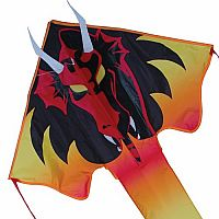 Fire Dragon Large Easy Flyer Kite