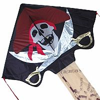 Pirate JUMBO Easy Flyer Kite