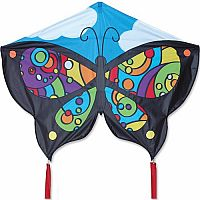 Butterfly Rainbow Orbit Kite