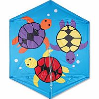 "56"" Sea Turtles - Rokkaku Kite"