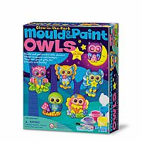Glow in the Dark Owls - Mould & Paint