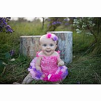 Baby Tutu & Headband - Light Pink