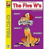 The Five W's - Reading Level 2