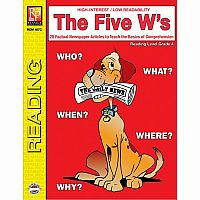 The Five W's - Reading Level 4